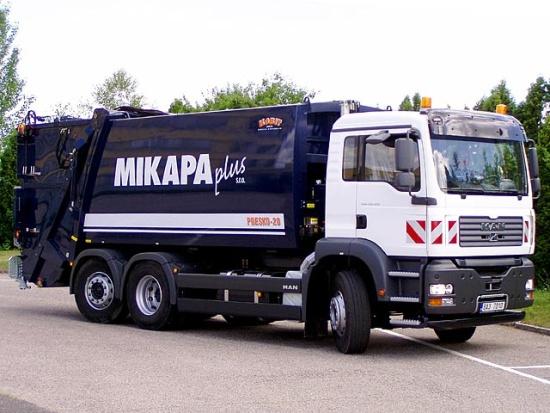 Komplexní komunální služby na jednom místě: nakládání s odpady, údržba zeleně i údržba komunikací a areálů