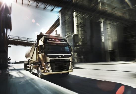 Osm m�s�c� sta�ilo pro inovaci cel� �ady model� n�kladn�ch vozidel Volvo