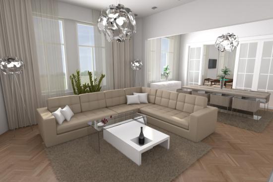 Komplexní služby architektů Cordesign zahrnují návrhy a realizace interiérů
