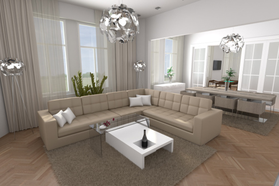 Komplexn� slu�by architekt� Cordesign zahrnuj� n�vrhy a realizace interi�r�