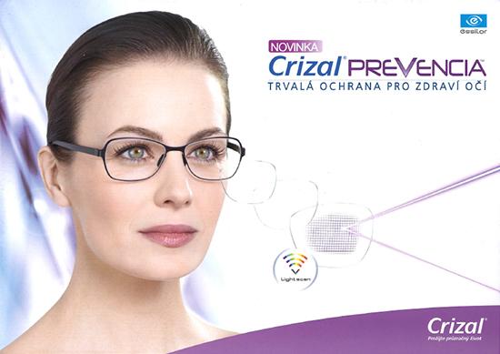 Chraňte své oči tím nejlepším – brýlovými čočkami Crizal Prevencia a Varilux