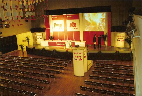 Kde v Českých Budějovicích hledat kongresový sál a prostory pro firemní akce?
