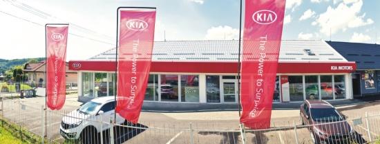 Autocentrum Kašpar - komplexní služby pro majitele vozů Kia