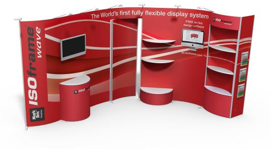 Prezentační systémy a praktické stojany vám pomohou v propagaci firmy