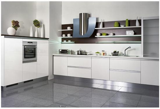Lakovaný nábytek a kuchyně od firmy Draft Inc