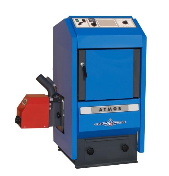 Zplynovací kotle ATMOS a akumulační nádrže pro spolehlivé a ekologické vytápění