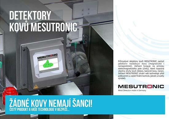 Detektory kovů MESUTRONIC si poradí se všemi kovy, JELÍNEK - TRADING spol. s r.o., Zlín