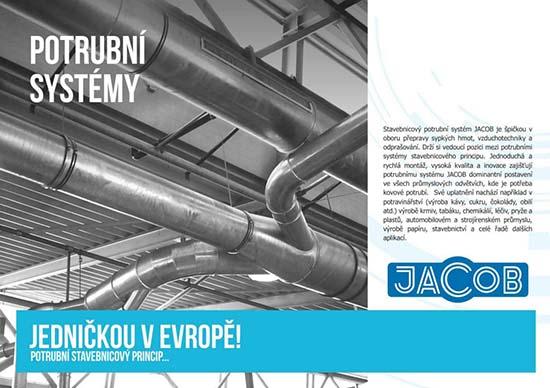 Potrubní systémy JACOB zajistí nejen přepravu sypkých materiálů, JELÍNEK - TRADING spol. s r.o., Zlín