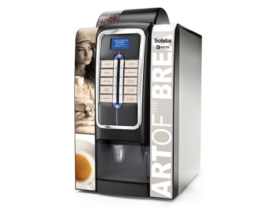 SOLISTA - Art of the Break. Automaty na kávu a teplé nápoje.