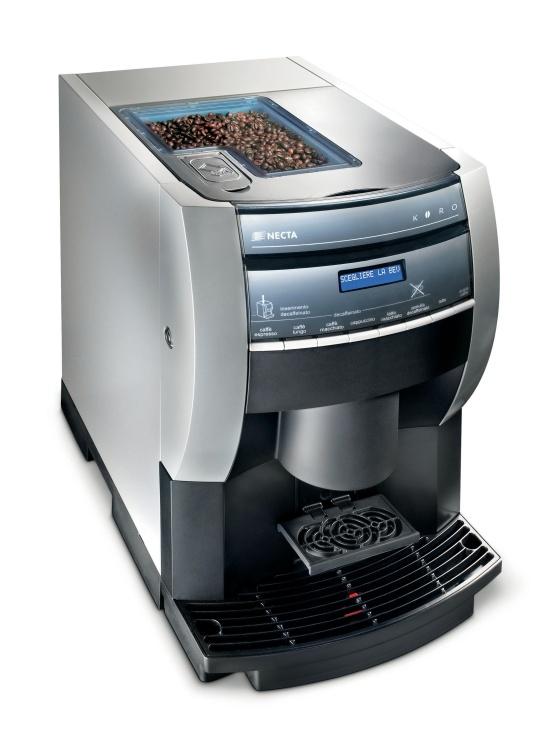 Automaty Koro připravují kávu na profesionální úrovni. Kávovary Koro, Olomouc