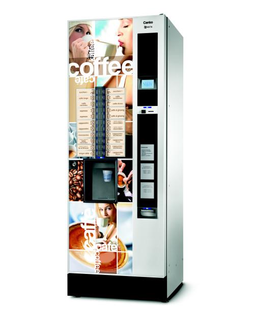 Samostatně stojící nápojové automaty prodává  - společnost ATE Company, Olomouc