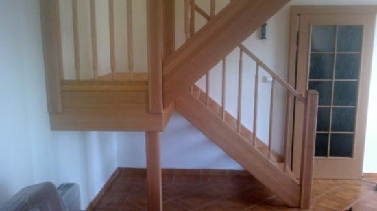 Roman Buršík, Tlumačov: dřevěné schodiště je chloubou každého interiéru
