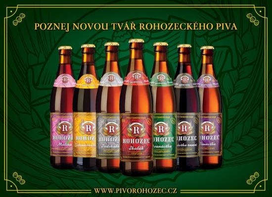 Tradi�n� pivo Rohozec dostalo zbrusu nov� kab�t