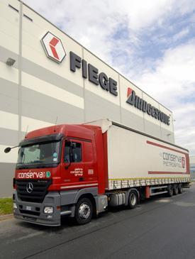 Logistické služby a logistické systémy Fiege vám usnadní podnikání