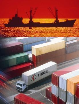 FIEGE s.r.o.: komplexní řešení dodavatelských řetězců - lodní přeprava
