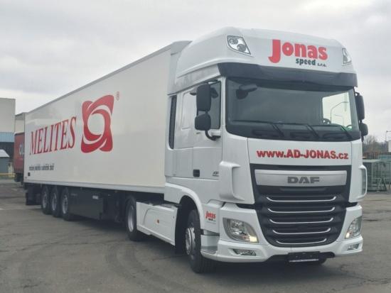 Mezinárodní autodoprava JONAS SPEED - bezpečný převoz nebezpečných nákladů