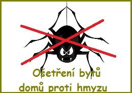 Dezinsekce zajist� dlouhodobou ochranu p�ed hmyzem