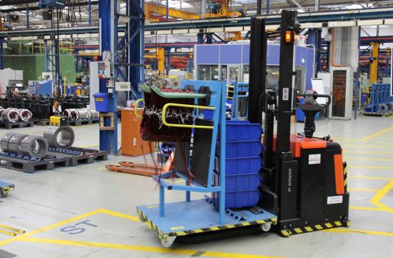 Automatizovan� voz�k BT Autopilot v praxi