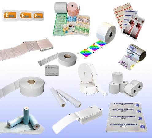EPOS spol. s r.o.: papírové kotoučky
