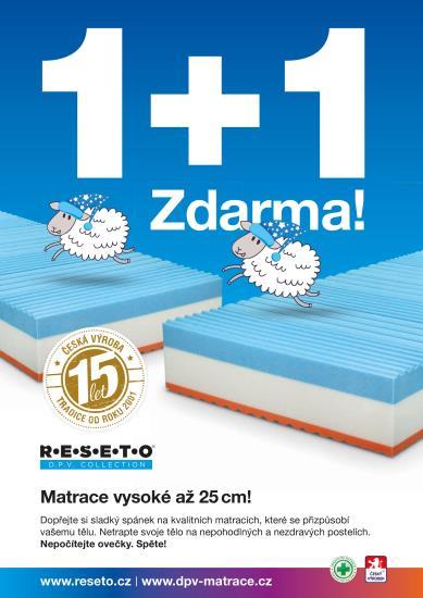 KAFKA&�UBA: 50% sleva na zdravotn� matrace pro v� kvalitn� sp�nek