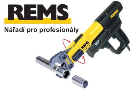 Řemeslníci, podnikejte efektivně! Na profesionální nářadí REMS se můžete spolehnout