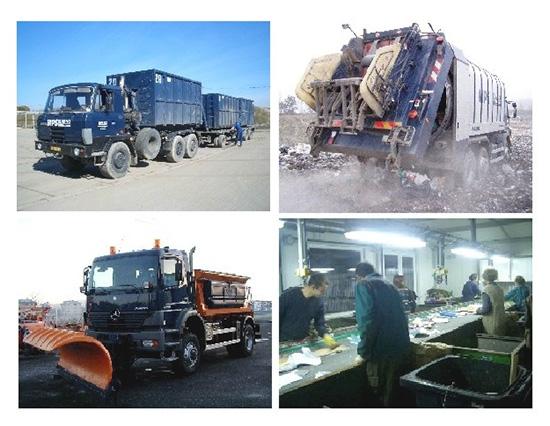 Čištění komunikací, údržba zeleně i svoz odpadu pro celé Kladno a okolí