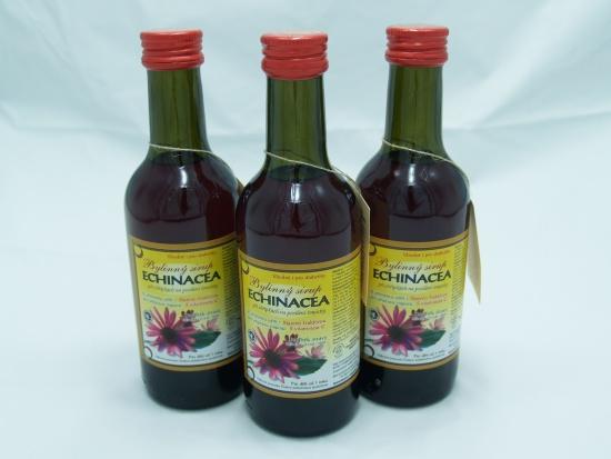 Bylinný sirup Echinacea - Klášterní officína s.r.o.