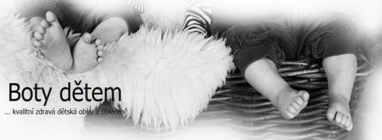 Boty d�tem: kvalitn� zdrav� boty pro d�ti ka�d�ho v�ku