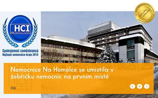Nemocnice Na Homolce: �etrn� metody l��by a lidsk� p��stup