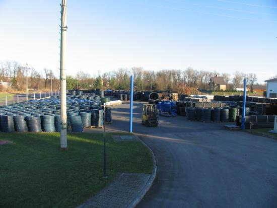 LUNA PLAST a.s., Mělník: PE plastové trubky výroba