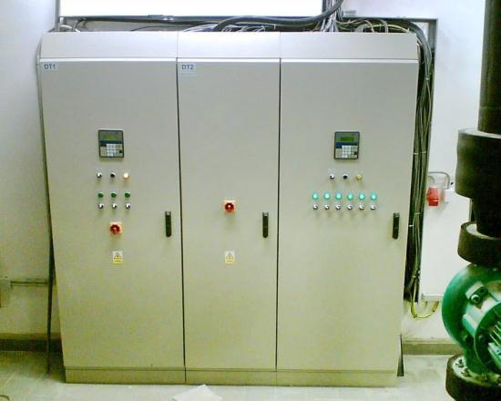 SAUTER Automation, spol.s r.o., Praha: vybavení laboratoře, nemocnice