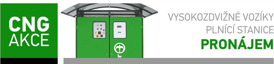 plnicí stanice s tlakovými zásobníky