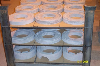 CAPITAL REFRACTORIES s.r.o., Šenov: průmyslová keramika