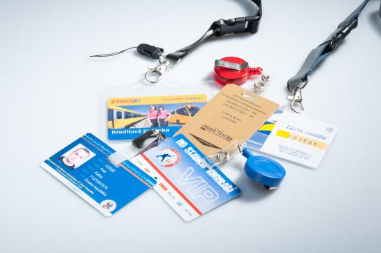 V�roba identifika�n�ch karet na m�ru a prodej p��slu�enstv�