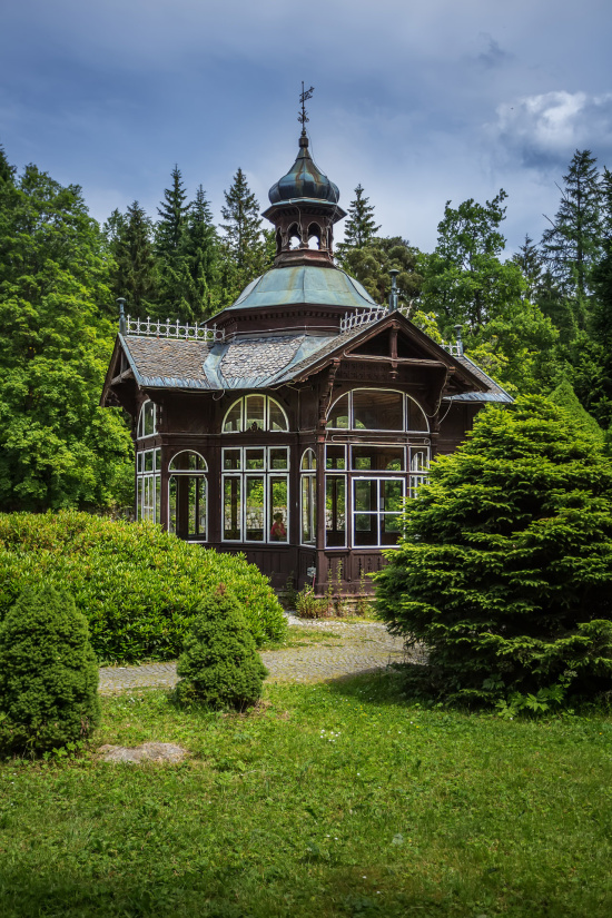 Horské lázně Karlova Studánka: lázeňské ozdravné pobyty