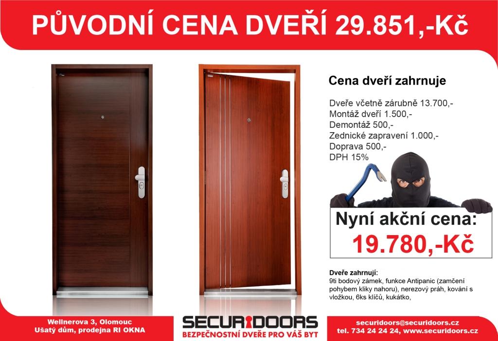Kvalitní bezpečnostní a protipožární dveře nemusí stát hromadu peněz