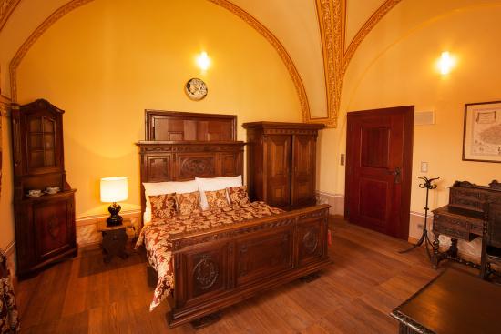 Hotel Zámek Valeč: krásné pokoje jako pro princezny