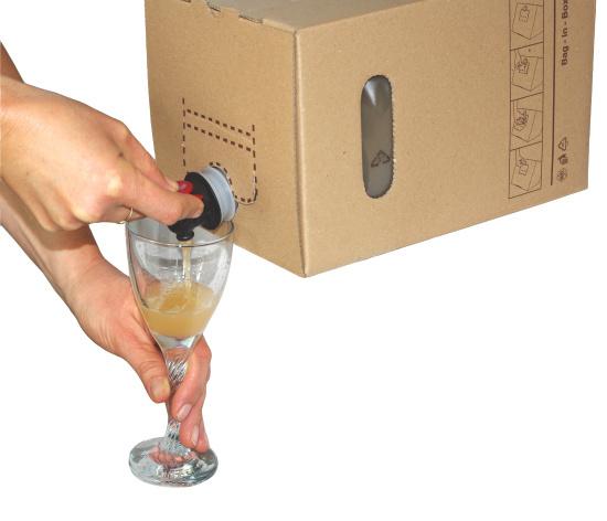 BAG-in-BOX, un envase de papel para tener lo mejor del zumo y el vino