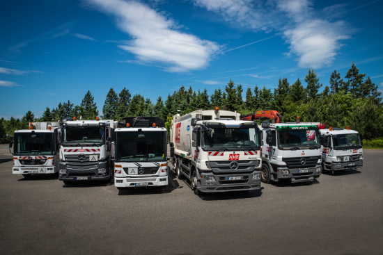 AVE CZ odpadové hospodářství s.r.o., Komunální služby Praha: odvoz odpadu