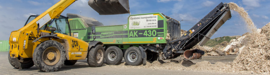 Centrální kompostárna Brno odveze z vaší obce biologický odpad
