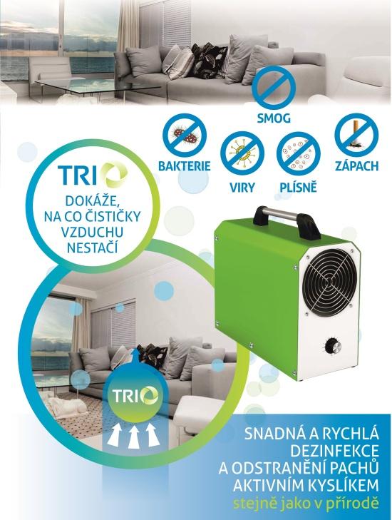Multifunkčním dezinfekčním zařízením LifeOX a TRIO od společnosti Trinityozon