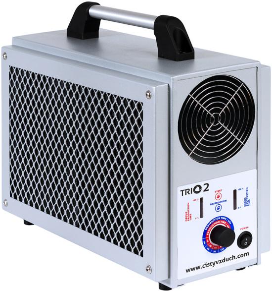 Multifunkčním dezinfekčním zařízením TRIO od společnosti Trinityozon