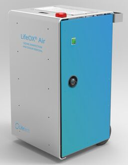 Multifunkčním dezinfekčním zařízením LifeOX od společnosti Trinityozon