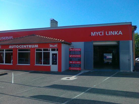 Autocentrum M.L.M., Uherské Hradiště. Mycí linka i kompletní servis automobilů všech typů a značek.