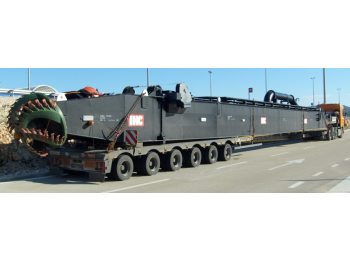 Transporte de cargas de grandes dimensiones