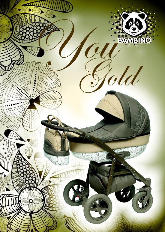 Kombinované kočárky BAMBINO zajistí miminku bezpečnost i pohodlí