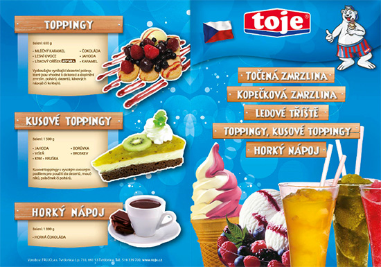 Potravinářské produkty TOJE jsou zárukou české kvality a dokonalé chuti