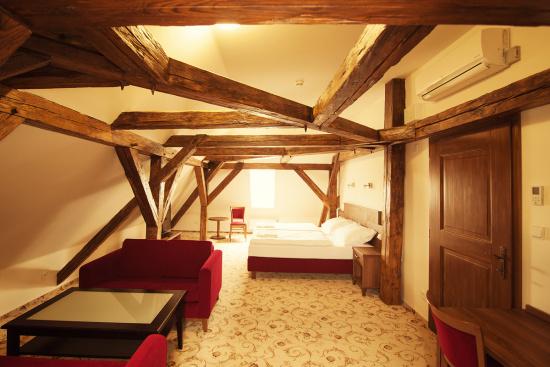 Rodinné apartmá, Hotel Zámek Valeč