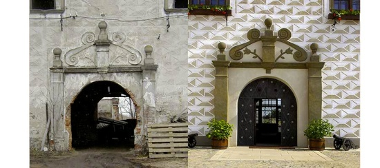 Rekonstrukce - Hotel Zámek Valeč