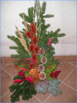 květinářství zajišťující aranžování květin